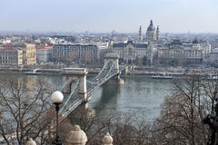 Chain Bridge, Budapest Stock Image