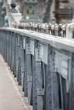 Chain bridge, Budapest Royalty Free Stock Photography
