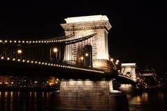 The Chain Bridge Royalty Free Stock Photography