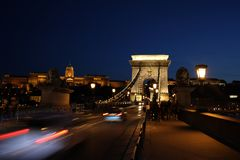 The Chain Bridge royalty free stock photography