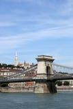 Chain bridge Budapest Hungary Royalty Free Stock Photo