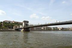 Chain bridge, Budapest Royalty Free Stock Photography