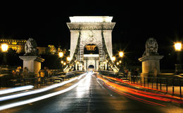 Chain bridge Royalty Free Stock Photography