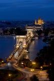 Chain Bridge - Budapest Stock Photography