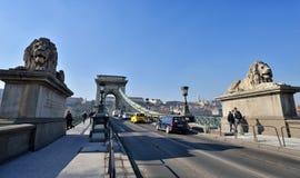 Chain Bridge, Budapest Royalty Free Stock Image