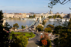 Chain Bridge, Budapest Stock Photography