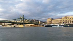 Chain Bridge Budapest Stock Photography