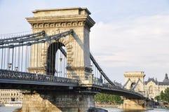 Chain Bridge (Budapest) Royalty Free Stock Image