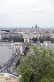 Chain Bridge, Budapest Royalty Free Stock Photos