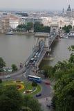 Chain Bridge budapest Royalty Free Stock Photography