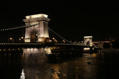 Chain Bridge Cruise stock photos