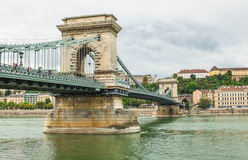 The chain bridge Royalty Free Stock Images