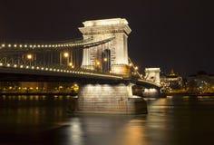 Chain Bridge Royalty Free Stock Photography