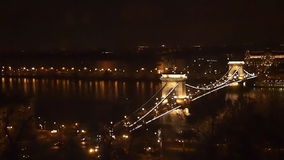 Chain Bridge stock video
