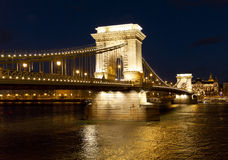 The Chain Bridge Royalty Free Stock Image