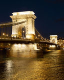 The Chain Bridge Royalty Free Stock Photos