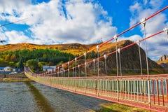 The chain bridge Stock Image