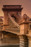 The Chain Bridge Stock Images