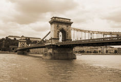Chain bridge Stock Photography