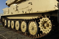 Chain of British Light Tank Stock Photo