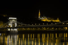 Chain bro i Budapest Arkivbild
