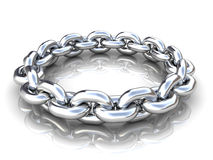 Chain circle Stock Image