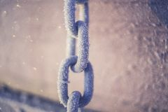 Chain, Close-up, Dirty Stock Photography