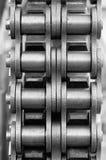 chain cogwheel Royaltyfria Foton
