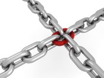 Chain concept Royalty Free Stock Images
