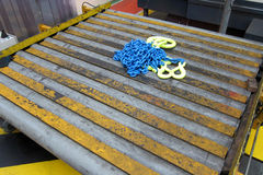 Chain and conveyor Royalty Free Stock Photos