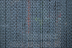 Chain curtain background. Detail of chain curtain background Stock Photos