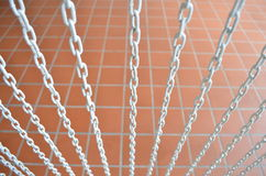 Chain curtain Stock Photo