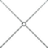 Chain, 3d Royalty Free Stock Images