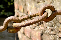 Chain detail Royalty Free Stock Image