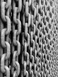 Chain Details in Budapest. stock image