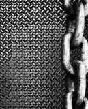 chain diamantmetall fotografering för bildbyråer