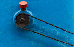 Chain drive Royalty Free Stock Images