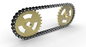 Chain Drive Stock Photos