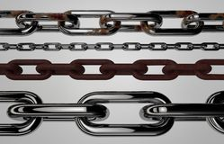 Chain elements Stock Photography