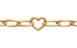 chain förälskelse Arkivfoto