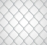 Chain fence background with shadow Stock Images