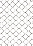 Chain Fence, Iron wire fence. Stock Image