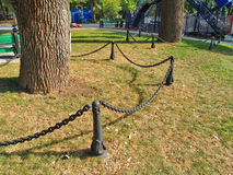 chain fence link Στοκ Φωτογραφίες