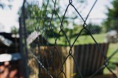 chain fence link στοκ εικόνα