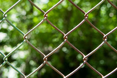 Chain fence Royalty Free Stock Images