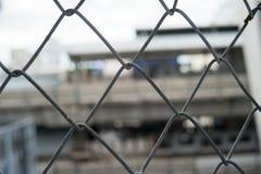 Chain fence Stock Photos