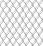 Chain fence. Vector illustration Royalty Free Stock Image