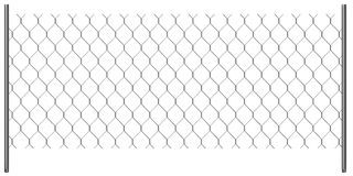 Chain fence - wire Stock Images