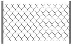 Chain fence17 Royalty Free Stock Photo