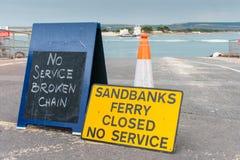 Chain ferry stock photos